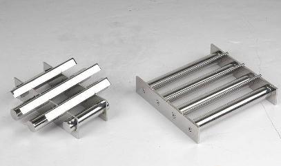 如何清洗除铁机磁棒表面的杂质?